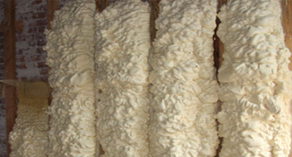 open-cell spray foam for Iowa applications
